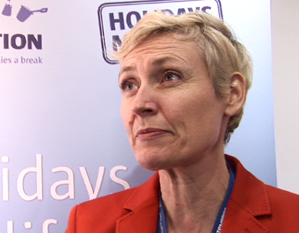 Interview with Pia Louw at WTM 2014