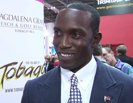 Interview with Dwight Yorke at WTM 2014